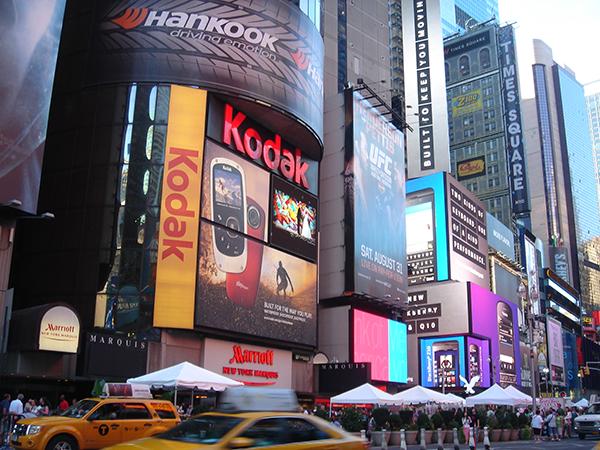 【恋のまち パリvsニューヨーク】特集イメージ:タイムズスクエア