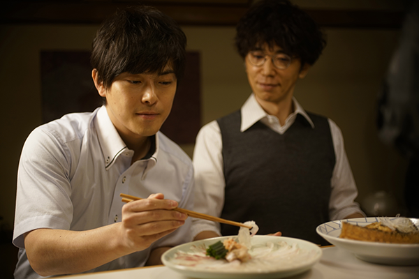 映画『食べる女』ユースケ・サンタマリア/勝地涼