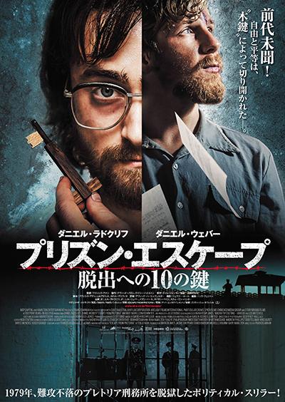 映画『プリズン・エスケープ 脱出への10の鍵』ダニエル・ラドクリフ/ダニエル・ウェバー