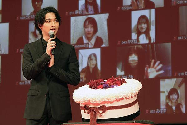映画『きみの瞳が問いかけている』完成報告イベント:横浜流星