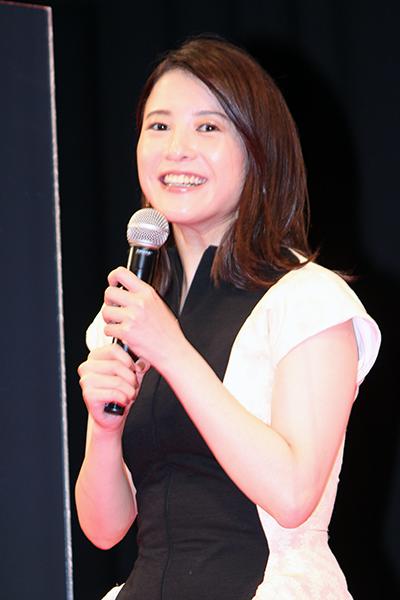 映画『きみの瞳が問いかけている』完成報告イベント:吉高由里子