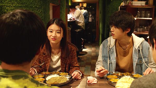 ドラマ『カレーの唄。』鈴鹿央士/出口夏希