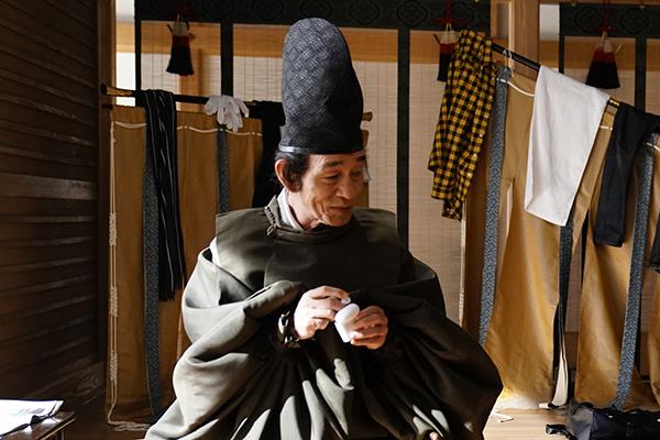 映画『十二単衣を着た悪魔』笹野高史