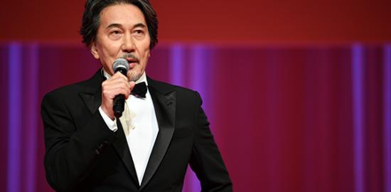 第33回東京国際映画祭オープニングセレモニー、役所広司