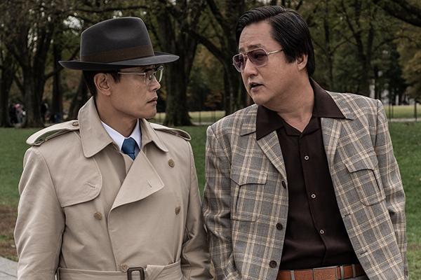 映画『KCIA 南山の部長たち』イ・ビョンホン/クァク・ドウォン