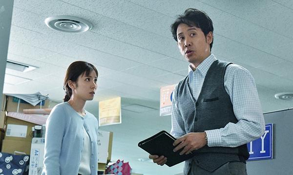 映画『騙し絵の牙』大泉洋/松岡茉優