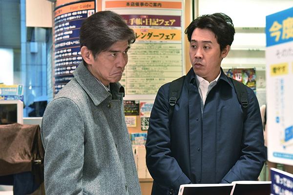 映画『騙し絵の牙』大泉洋/佐藤浩市