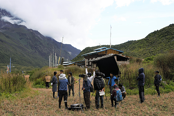映画『ブータン 山の教室』撮影メイキング