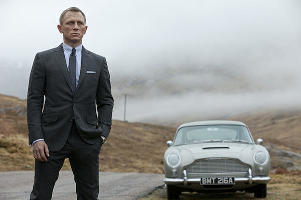 映画『007 スカイフォール』ダニエル・クレイグ