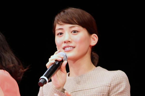 映画『映画 ひみつのアッコちゃん』舞台挨拶、綾瀬はるか
