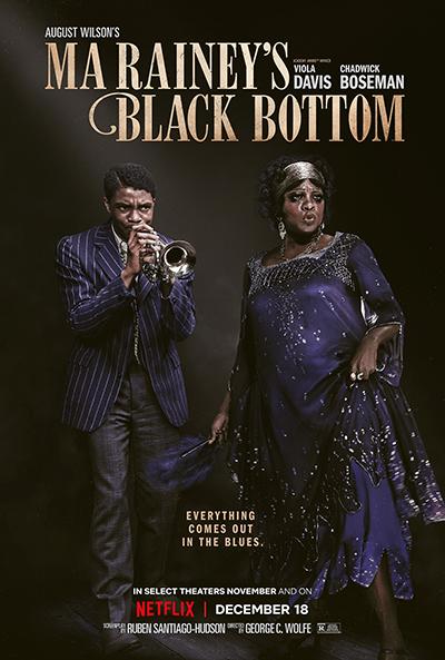 Netflix映画『マ・レイニーのブラックボトム』ヴィオラ・デイヴィス/チャドウィック・ボーズマン