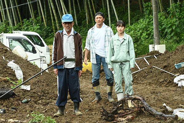 映画『しあわせのマスカット』福本莉子/中河内雅貴/竹中直人