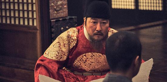 映画『王の願い ハングルの始まり』ソン・ガンホ