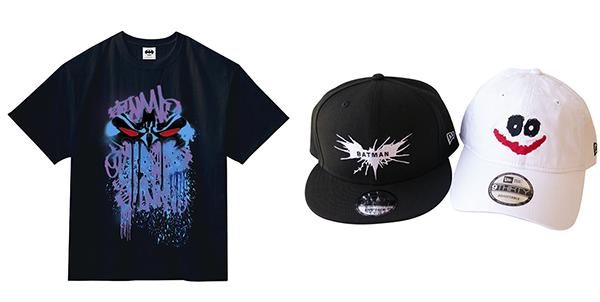【DC展 スーパーヒーローの誕生】Tシャツ、キャップ