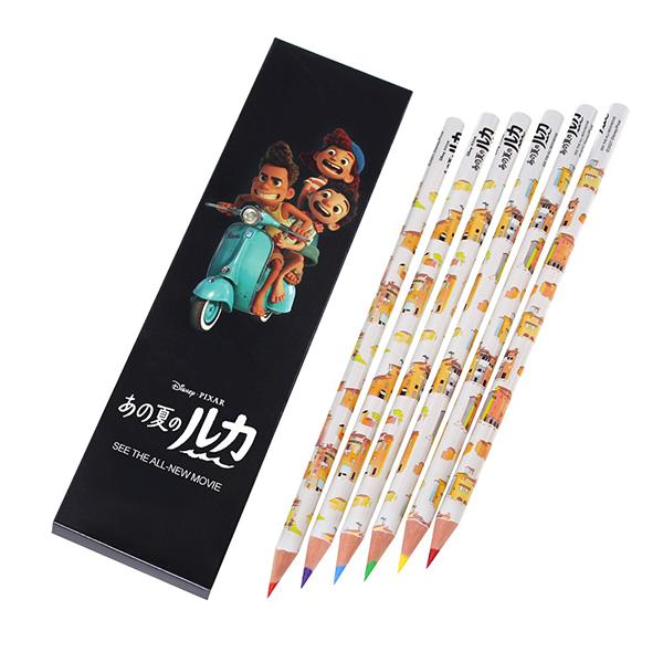 映画『あの夏のルカ』色鉛筆