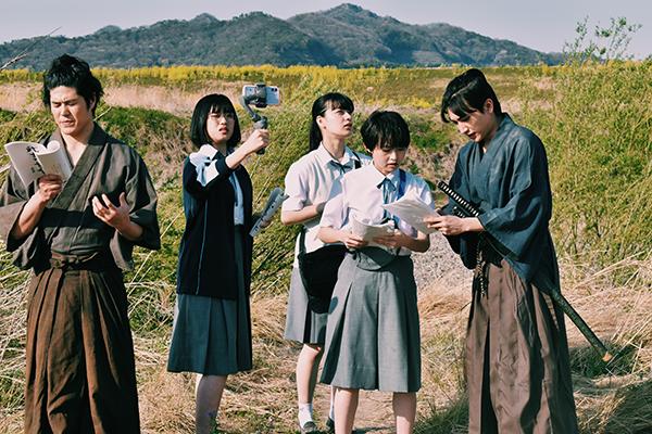 映画『サマーフィルムにのって』伊藤万理華/金子大地/河合優実/祷キララ/板橋駿谷