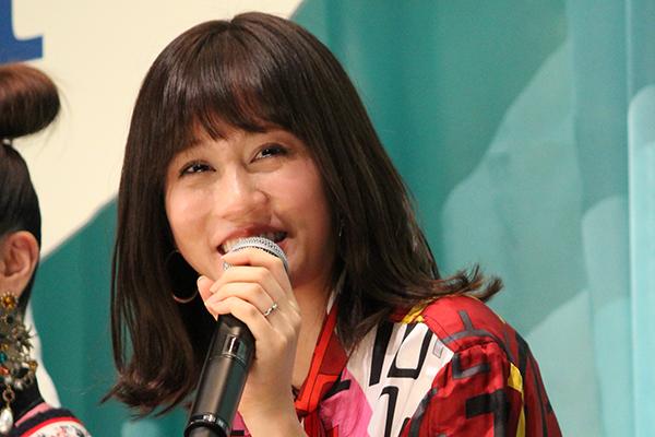 映画『食べる女』舞台挨拶、前田敦子