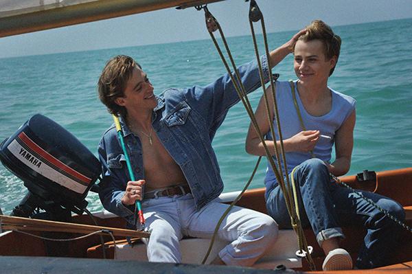 映画『Summer of 85』フェリックス・ルフェーヴル/バンジャマン・ヴォワザン