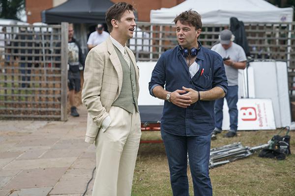映画『ブライズ・スピリット〜夫をシェアしたくはありません!』メイキング、エドワード・ホール監督/ダン・スティーヴンス