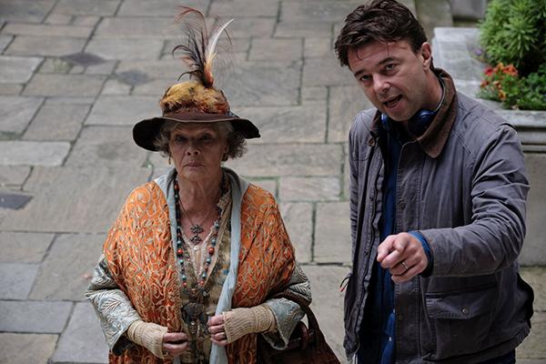 映画『ブライズ・スピリット〜夫をシェアしたくはありません!』メイキング、エドワード・ホール監督/ジュディ・デンチ