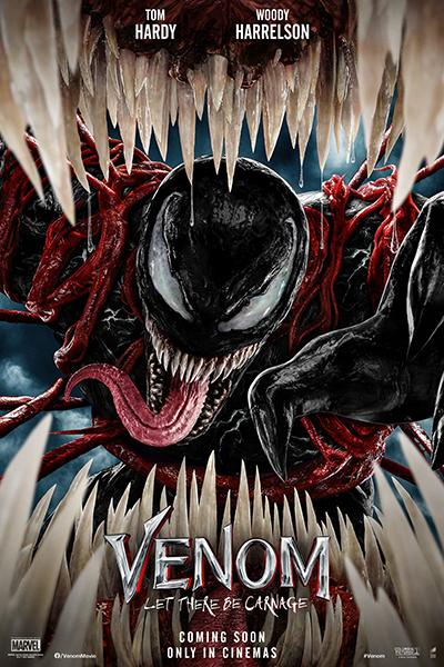 映画『ヴェノム:レット・ゼア・ビー・カーネイジ』海外版ポスター