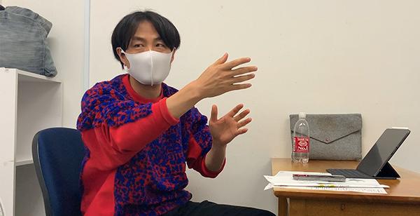 映画『人と仕事』メイキング、森ガキ侑大監督